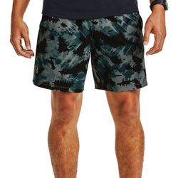 Under Armour Mens UA Launch 7 Printed Shorts