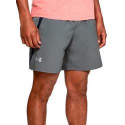 Mens UA Launch 7 Solid Shorts