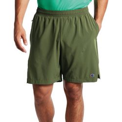 Champion Mens 7 Solid Sport Shorts With Liner
