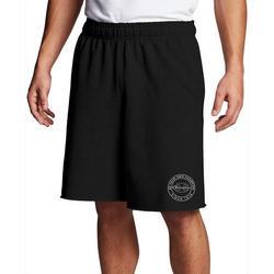 Mens Fleece Circle Logo Shorts