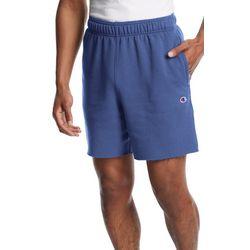 Champion Mens Powerblend Small Logo Shorts