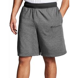 Mens Embroidered Logo Heather Shorts
