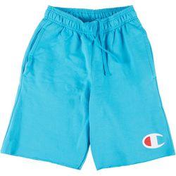 Mens Powerblend Graphic logo Shorts