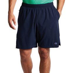 Mens 7 Solid Liner Sport Shorts