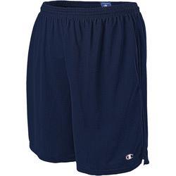 Mens Long Mesh Pocket Shorts