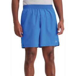Champion Mens Solid Boxed Logo Woven Shorts
