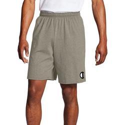 Mens Classic Heathered Jersey Big C Logo Shorts