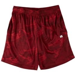 Russel Athetics Mens All Over Camo Performance Shorts