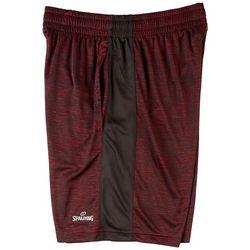 Spalding Mens Crossover Athletic Shorts
