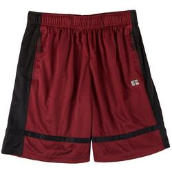 Russel Athetics Mens Contrst Stripe Mesh Shorts