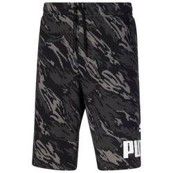 Puma Mens Camo Big Logo Fleece Performance Shorts