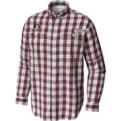 Mens Long Sleeve Plaid Super Tamiami Shirt