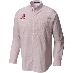 Alabama Mens Super Tamiami Long Sleeve Shirt by