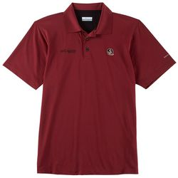 Florida State Mens PFG Skiff Polo Shirt By Columbia