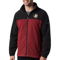 Florida State Mens Flanker Fleece Jacket By Columbia