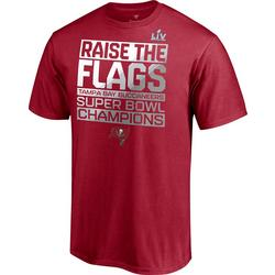 Buccaneers Mens Super Bowl LV Champions Parade T-Shirt