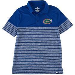 Florida Gators Mens Striped Polo Shirt by Fanatics