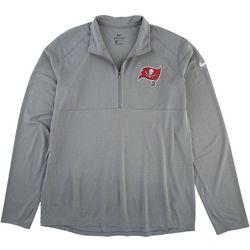 Buccaneers Mens Quarter Zip Logo Jacket