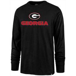 Georgia Bulldogs Mens Pregame T-Shirt by 47 Brand