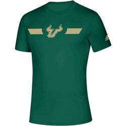 USF Bulls Mens Locker Stripe T-Shirt by Adidas