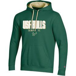 USF Bulls Mens Logo Hoodie by Champion