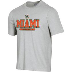 Miami Hurricanes Mens Field Day T-Shirt By Columbia