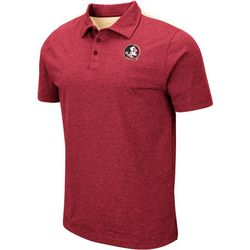 Florida State Mens I Will Not Polo Shirt by Colosseum