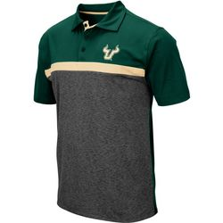 USF Bulls Mens Capital City Polo Shirt by Colosseum
