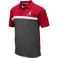 Alabama Mens Capital City Polo Shirt by Colosseum
