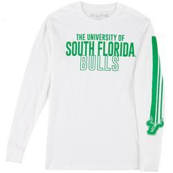 Mens Long Sleeve Logo Print T-shirt by Victory
