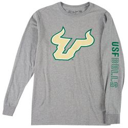 USF Bulls Mens Long Sleeve Logo Tee by Victory