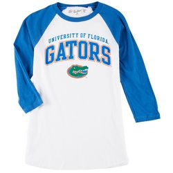 Florida Gators Mens 3-Quarter Sleeve Logo Tee by Victory