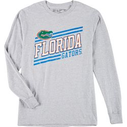 Florida Gators Mens Heather Long Sleeve Logo Tee by Victory