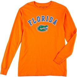 Florida Gators Mens Solid Long Sleeve Logo Tee by Victory