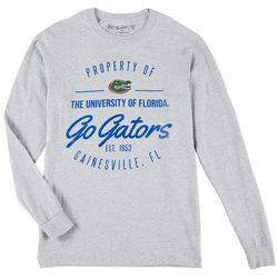 Mens Long Sleeve Go Gators T-Shirt by Victory