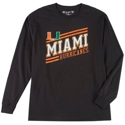 Miami Hurricanes Mens Long Sleeve Pullover