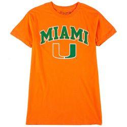 Miami Hurricanes Mens UM Promo T-shirt by Victory
