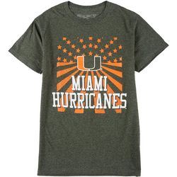 Miami Hurricanes Mens Short Sleeve UM Promo Tee by Victory