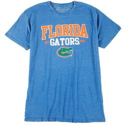 Florida Gators Mens Raw Burnout Wash T-Shirt by Victory