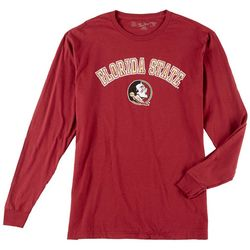 Florida State Mens Long Sleeve Team Logo Tee by Victory