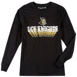 UCF Knights Mens Long Sleeve Logo Tee by Victory