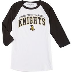 UCF Knights Mens 3-Quarter Sleeve Team Logo Tee by Victory