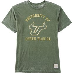 USF Bulls Mens Mineral Wash T-Shirt by Victory