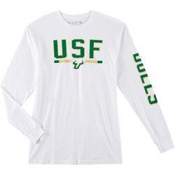 USF Bulls Mens Logo Long Sleeve T-Shirt by Victory