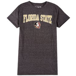 Florida State Mens Heather Icon Logo T-Shirt by Victory