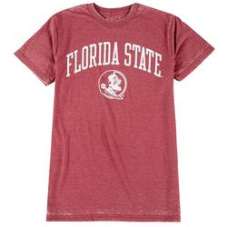 Florida State Mens Burnout Wash T-Shirt by Victory