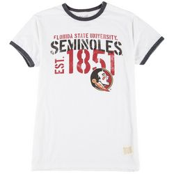Florida State Mens Team Logo Crew Neck T-Shirt by Victory