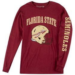 Florida State Mens Team Helmet Screenprint Tee by Victory