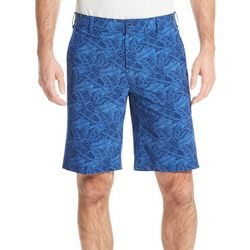IZOD Golf Mens Swingflex Palm Flat Front Pocket Shorts