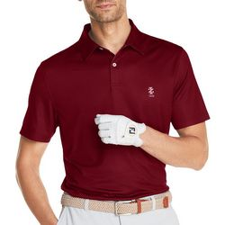 IZOD Golf Mens Ditzy Short Sleeve Polo Shirt